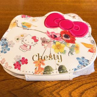 チェスティ(Chesty)のchesty × Hello Kitty 拡大鏡付きコンパクトミラー(ミラー)