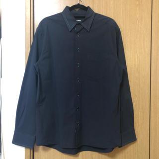 ラフシモンズ(RAF SIMONS)のraf simons ビッグシャツ ネイビー(シャツ)