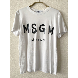エムエスジイエム(MSGM)の定価の約80%OFF!MSGM正規品❇︎ロゴT (レディース)(Tシャツ(半袖/袖なし))