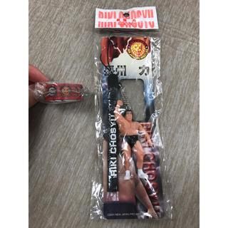 【最終値下げ】長州力ストラップ & 新日本プロレスマスキングテープ セット(格闘技/プロレス)