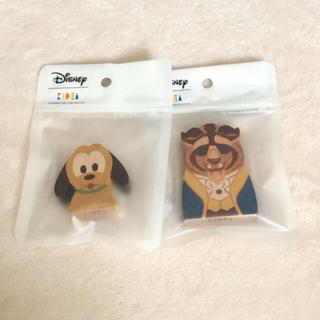 ディズニー(Disney)の新品 ディズニー kidea  美女と野獣 プルート (積み木/ブロック)