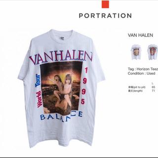 キャピタル(KAPITAL)のVAN HALEN Tシャツ ヴァンヘイレン portration(Tシャツ/カットソー(半袖/袖なし))