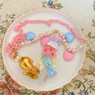 アンジェリックプリティー(Angelic Pretty)のAngelic Pretty Ice Cream Parlor ネックレス(ポーチ)