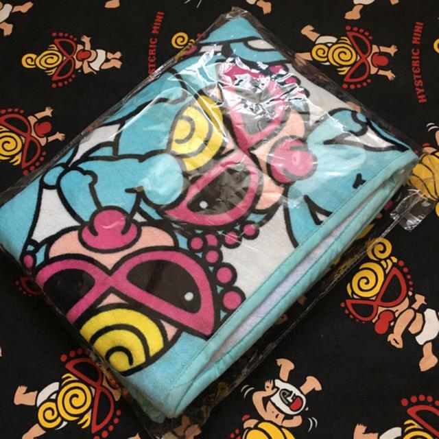 HYSTERIC MINI(ヒステリックミニ)の新品 ヒスミニ おくるみタオル キッズ/ベビー/マタニティのこども用ファッション小物(おくるみ/ブランケット)の商品写真