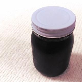 自家栽培ブラックベリージャム コンフィチュール 500g 糖度70%以上(缶詰/瓶詰)