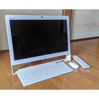 SONY - VAIO TV付きパソコン VPCJ238FJ/W Office付き
