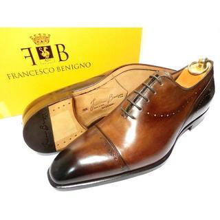 Santoni - 【新品】フランチェスコベニーニョ 革靴 7 26cm