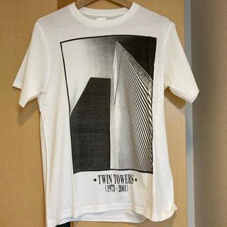 ナンバーナイン(NUMBER (N)INE)の訳あり格安出品 ナンバーナイン ツインタワー Tシャツ(Tシャツ/カットソー(半袖/袖なし))