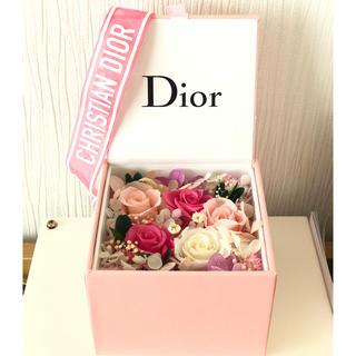 ディオール(Dior)のDior限定ノベルティ☆プリザーブドフラワー(プリザーブドフラワー)