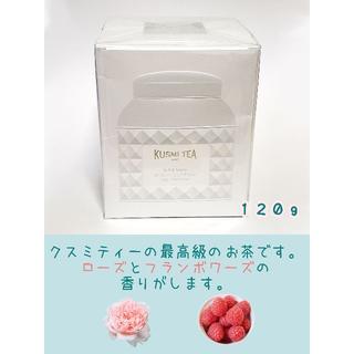 【Kusmi Tea】テ ブラン アラン デュカス120g(缶)(茶)