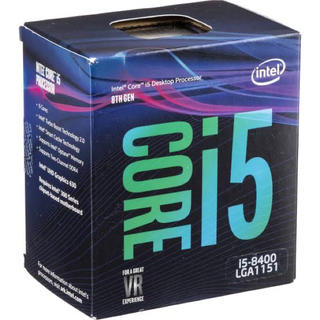 エイスース(ASUS)のIntel CPU Core i5-8400(PCパーツ)