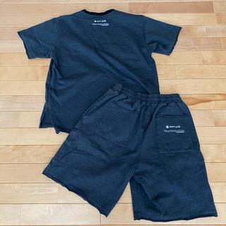 スノーピーク(Snow Peak)のスノーピーク ニューバランス コラボ T-SHIRT & SHORTS(Tシャツ/カットソー(半袖/袖なし))