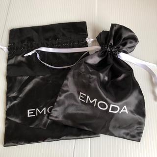 エモダ(EMODA)のEMODA エモダ きんちゃく袋 ポーチ 2枚(ポーチ)