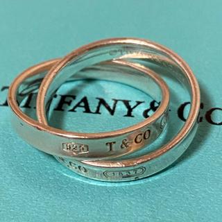 ティファニー(Tiffany & Co.)のTiffany ティファニー 1837 インターロッキング ダブルリング(リング(指輪))