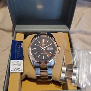 セイコー(SEIKO)の【本日18時まで】SEIKO 機械式腕時計 プレザージュsary056(腕時計(アナログ))