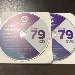 ズンバ(Zumba)のズンバ ZIN79  CD.DVD  (スポーツ/フィットネス)