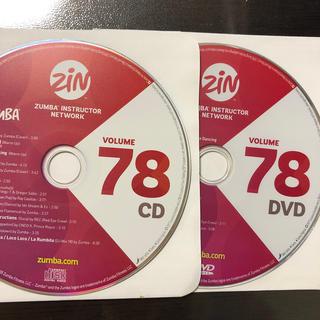 ズンバ(Zumba)のズンバ ZIN78  CD.DVD(スポーツ/フィットネス)