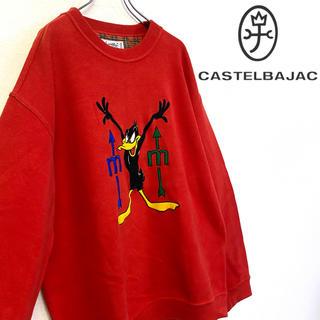 カステルバジャック(CASTELBAJAC)の美品 イタリー製 J.c de CastelBajac ダフィダック トレーナー(スウェット)