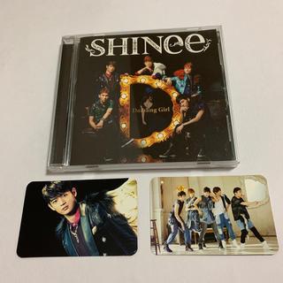 シャイニー(SHINee)のSHINee Dazzling Girl CD トレーディングカード付き ミンホ(K-POP/アジア)