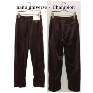チャンピオン(Champion)のnano universe × Champion コラボ (新品)ベロアパンツ (カジュアルパンツ)