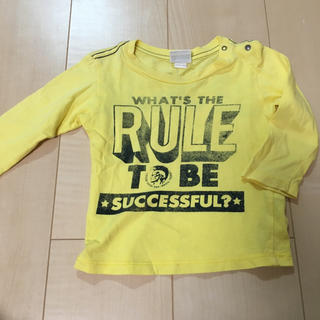 ディーゼル(DIESEL)のDIESE ロングTシャツ カットソー サイズ9H 70〜80cm位(シャツ/カットソー)