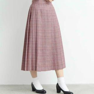 ディディジジ 新品グレンチェックプリーツスカート