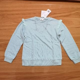 サンカンシオン(3can4on)の【新品】3can4on 長袖薄手トレーナー 130cm (Tシャツ/カットソー)