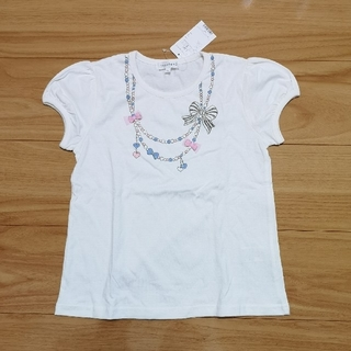 サンカンシオン(3can4on)の【新品】3can4on Tシャツ 130cm(Tシャツ/カットソー)