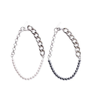 ジョンローレンスサリバン(JOHN LAWRENCE SULLIVAN)のchain pearl necklace(ネックレス)