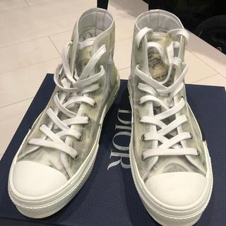 クリスチャンディオール(Christian Dior)のDIOR B23 ハイカットスニーカー  サイズ41 美品!(スニーカー)