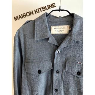 メゾンキツネ(MAISON KITSUNE')の最終価格【MAISON KITSUNE】シャツジャケット16ss(シャツ)