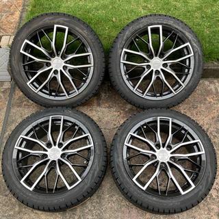 ビーエムダブリュー(BMW)の225/45R18 スタッドレス&ホイールセット ピレリ アイスアシンメトリコ(タイヤ・ホイールセット)