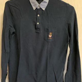 Ralph Lauren - ラルフローレン 長袖ポロシャツ(濃紺)大きいサイズ