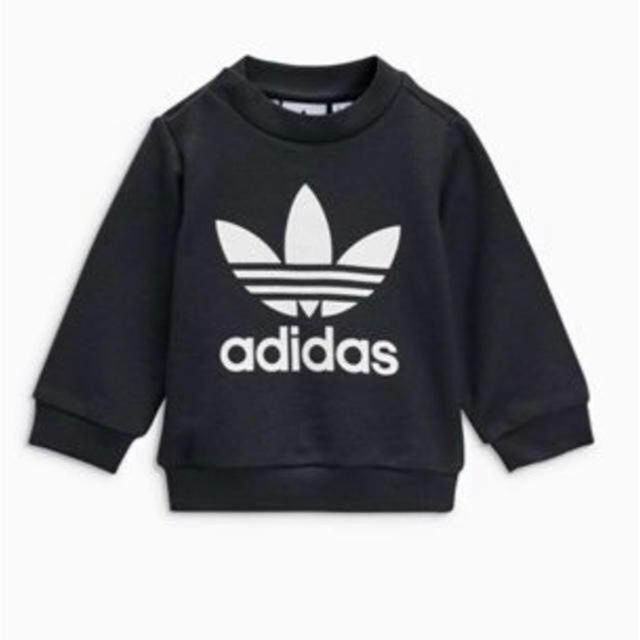 adidas(アディダス)の新品 アディダス セットアップ キッズ/ベビー/マタニティのベビー服(~85cm)(トレーナー)の商品写真