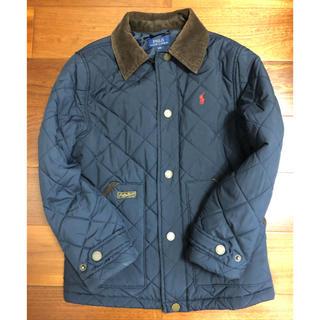 ポロラルフローレン(POLO RALPH LAUREN)のラルフローレン キルティング 紺色 ジャケット 140 130(ジャケット/上着)