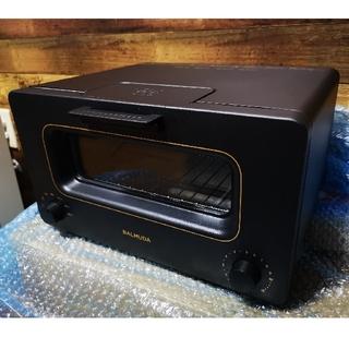 バルミューダ(BALMUDA)の【中古美品・送料無料】バルミューダ ザ·トースター ブラック(調理機器)