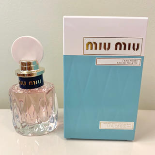 ミュウミュウ(miumiu)の新品 箱入 miu miu ミュウミュウ ロー ロゼ 50ml (香水(女性用))