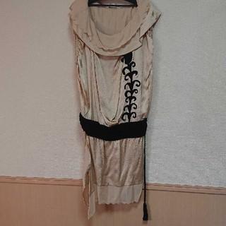 ツモリチサト(TSUMORI CHISATO)のツモリチサト ドレス ワンピース シルク 新品未使用(ひざ丈ワンピース)