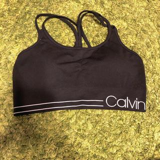 カルバンクライン(Calvin Klein)のカルバンクライン スポーツブラ ヨガウェア ブラトップ(ヨガ)