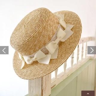 リズリサ(LIZ LISA)のメニーリボンカンカン帽(麦わら帽子/ストローハット)