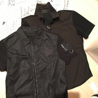 プラダ(PRADA)のPRADA メンズ衿シャツL(Tシャツ/カットソー(半袖/袖なし))