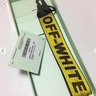 OFF-WHITE - off-white キーホルダー