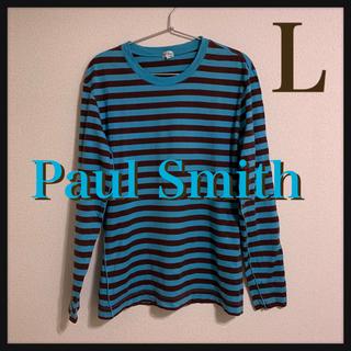 ポールスミス(Paul Smith)のa146 ポールスミス ボーダーカットソー 長袖(Tシャツ/カットソー(七分/長袖))