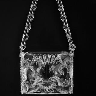マメ(mame)のmamekurogouchi Long Chain Bag - clear(ショルダーバッグ)