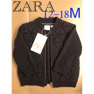ザラ(ZARA)の【新品】ZARA  ベビー ブルゾン アウター ジャケット ネイビー ベビー服(ジャケット/コート)