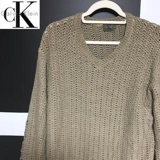 カルバンクライン(Calvin Klein)のCalvin Klein カルバンクライン ニットセーター L(ニット/セーター)