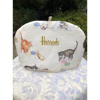 ハロッズ(Harrods)の最終値下げ Harrods ハロッズ ティーコージ 猫柄(テーブル用品)