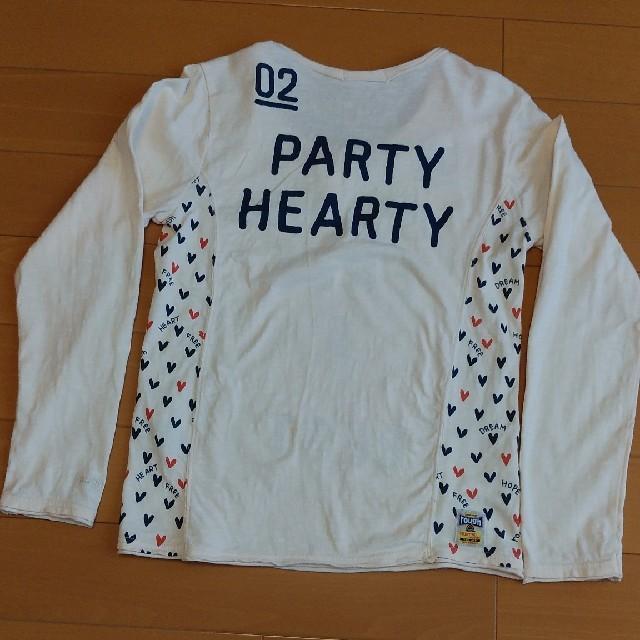 rough(ラフ)のお値下げ✴【rough】キーネック長袖Tシャツ レディースのトップス(Tシャツ(長袖/七分))の商品写真