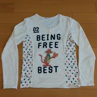 ラフ(rough)のお値下げ✴【rough】キーネック長袖Tシャツ(Tシャツ(長袖/七分))
