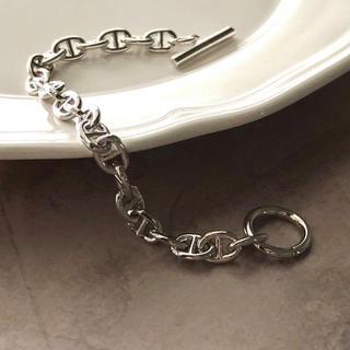 トゥモローランド(TOMORROWLAND)のsilver chain dancer bracelet(ブレスレット/バングル)